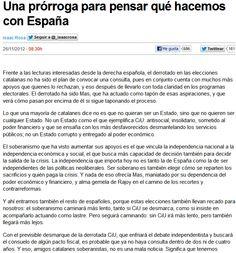 Una prórroga para pensar qué hacemos con España / @isaacrosa @eldiarioes | #politiquerio #marcaespaña