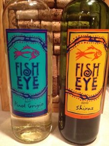 Fine wines on pinterest wine packaging pinot noir and for Fish eye pinot grigio