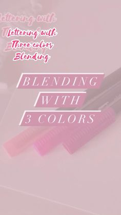 Writing Fonts, Writing Tips, Letter Blends, I Need A Hobby, Scrapbook Letters, Watercolor Art Lessons, Hand Lettering Tutorial, Things To Do When Bored, Color Blending