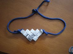 crafty jewelry with recycling paper ideas - crafts ideas - crafts for kids