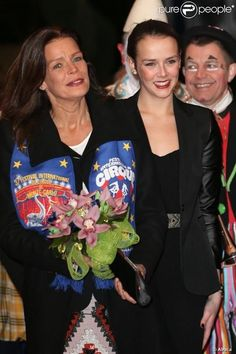 Princess Stephanie and her daughter