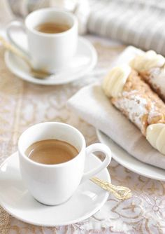 Coffee And Cannoli Italians At Home