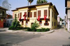 İşte Türkiye Cumhuriyeti'nin kurucusu Mustafa Kemal Atatürk'ün Selanik'te bulunan doğduğu ev ...
