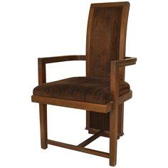 1940s American Armchair by Frank Lloyd Wright for Henredon 1