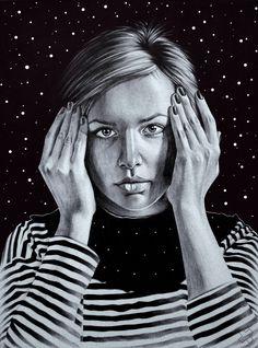Pen Portraits by Sasha Ushkevich | InspireFirst