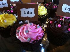 I Do Wedding Cupcakes from Laidback Cakes