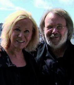 Some more Agnetha & Benny at ABBAworld opening in Australia 2010