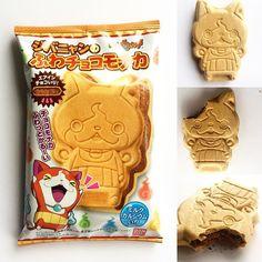 FUWACHOKO-MONOKA  Troquelado  con forma de  Yo-Kai Watch. Relleno de chocolate…