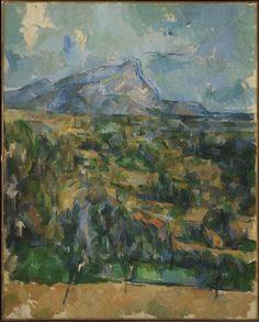 Paul Cézanne / Mont Sainte-Victoire / ca. 1904–06