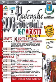 Padenghe Medievale il 16 e 17 Agosto @gardaconcierge