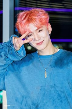 Kihyun - This smile sucked the breath out of me.. literally.. wow...