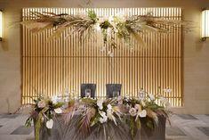 先輩花嫁「ayu_trunkwed」の会場装花の写真まとめ - ウエディングニュースブライズ Bride Groom Table, Wedding Decorations, Table Decorations, Wedding Gallery, Hotel Wedding, Banquet, Wedding Flowers, Japanese, Bridal