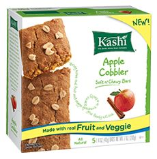 Kashi Soft n Chewy Bars 2 new flavors: Apple Cobbler & Berry Muffin