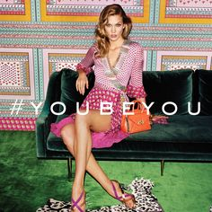 """This is me being me. Now #youbeyou."" –Karlie Kloss"