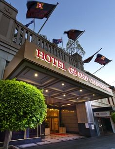 Hotel Grand Chancellor Adelaide  180 spacious guest rooms including 40 suites. Facilities include Bistro Sixty5. Sebastyans Bar open everyday until late and 8 conference rooms ranging from intimate rooms for six to the Hindley Ballroom for up to 420 guests