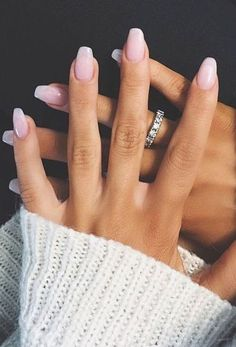 20 Short square acrylic nails ideas 2018 20 Short square acrylic nails ideas 2018 More from my site 58 Chic Natural Gel Short Coffin Nails Color Ideas For Summer Nails – 61 trendy stunning manicure ideas 2019 for short acrylic nails design 6 Trendy Nails, Cute Nails, My Nails, Bio Gel Nails, Casual Nails, Prom Nails, Almond Acrylic Nails, Fall Acrylic Nails, Fall Nails