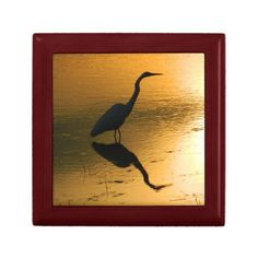 Egret( Sunset Reflection) Gift Box