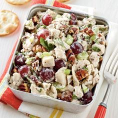 25 Fresh Spring Salads | Poppy Seed Chicken Salad | CoastalLiving.com