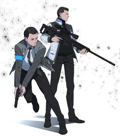 Detroit become human Detroit Being Human, Detroit Become Human Game, Comic Collage, Bryan Dechart, Quantic Dream, Becoming Human, Human Art, Father And Son, Wattpad