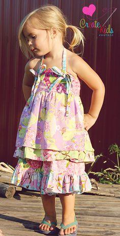 Cece's circle skirt PDF Pattern size 612 by CreateKidsCouture, $8.00