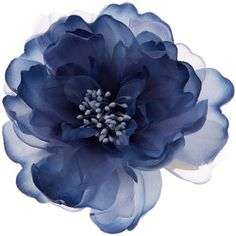 Accessorize Blue Peony Hair Corsage