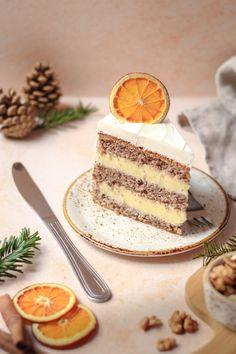 Torte Recepti, Kolaci I Torte, Baking Recipes, Cake Recipes, Dessert Recipes, Serbian Recipes, Serbian Food, Torte Cake, Doughnut Cake