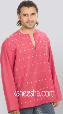 Strawberry Pink Silk Shirt