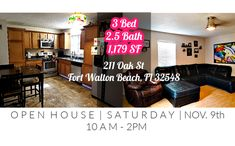 Saturday at - Open House