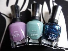 Review & Swatsches: Sally Hansen Complete Salon Manicure