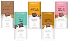 Hammonds chocolate bars