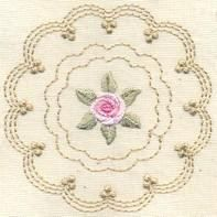 Bullion Rose Quilt 3 - Artistic Designs | OregonPatchWorks