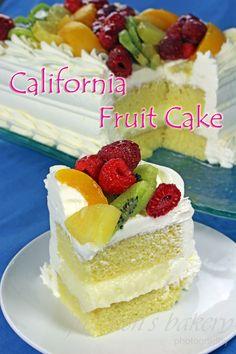 California Fruit Cake  ~ Gretchen's Bakery