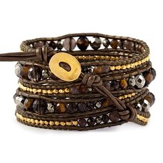 Chan Luu wrap bracelet very different! I bet I could dress this up with some crystals and more bling :)