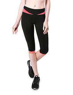 Baleaf Women's Yoga Workout Capri Legging Black Coral Siz... https://www.amazon.com/dp/B019SQLEOM/ref=cm_sw_r_pi_dp_wzXNxbVV0RFXH