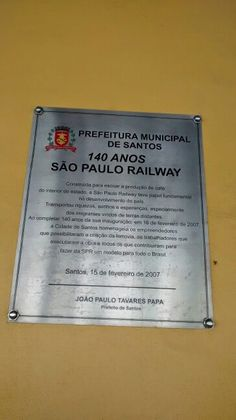 São Paulo Railway/ Santos - BR 2015
