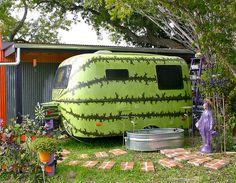 watermelon caravan Caravana sandía