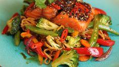 Du har mange valg når det gjelder grønnsaker til fisken. Laksa, Asian Recipes, Ethnic Recipes, Always Hungry, Recipe Boards, Fish And Seafood, Low Carb Recipes, Easy Recipes, Food To Make