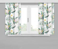 Dekorační závěsy květinové Curtains, Shower, Prints, Rain Shower Heads, Blinds, Showers, Draping, Picture Window Treatments, Window Treatments