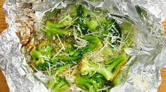 Lemon Parmesan Foil-Pack Broccoli How-To - Pillsbury.com