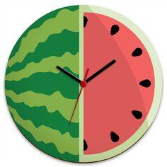 Relógio de Parede Melancia :: HMMM