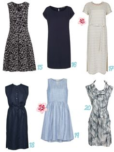 20x Duurzame lente & zomer jurkjes