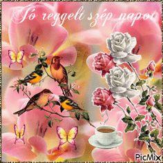 Good Morning, Plants, Painting, Beautiful, Art, Buen Dia, Art Background, Bonjour, Painting Art