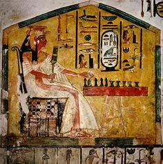 belonged to Egypt's Queen Nefertari Ancient Egyptian Religion, Ancient Egypt Art, Queen Nefertari, Its A Wonderful Life, Historical Fiction, Prehistoric, Archaeology, Science Fiction, Painting