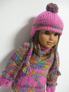 American Girl Doll Clothes  Winter Collection by 123MULBERRYSTREET, $35.00