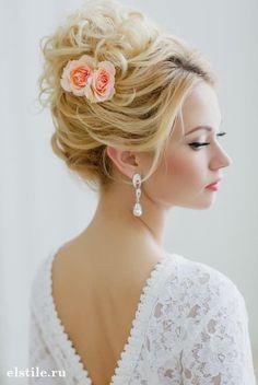loose high updo wedding hairstyles #weddinghairstyles