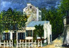 Maurice Utrillo The Lapin Agile oil painting reproductions for sale