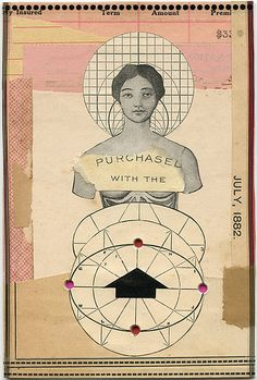 Impulse-Buy, 2011.  Collage by Angelica Paez