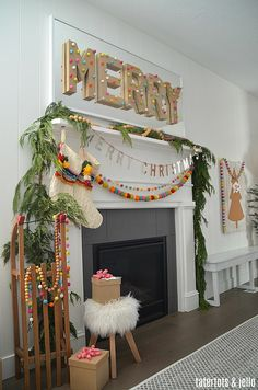 holiday home tour - beautiful holiday home decorating ideas!