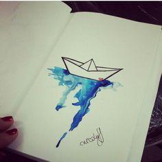 """Um  o  no !  Esse desenho foi feito por <a href=""""http://instagram.com/nickitattoo"""">@nickitattoo</a> =)                             Onde encontrar a Nicki:  Rua Fernando Machado , 64 subsolo estúdio Nicki Tattoo - Florianopolis Telefone : 48 33220740 / 48 91266771"""