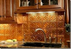 Low Cost Kitchen Backsplash Ideas | So there you have it. Façade, fasade. Tomato, tomahto. Never thought ...